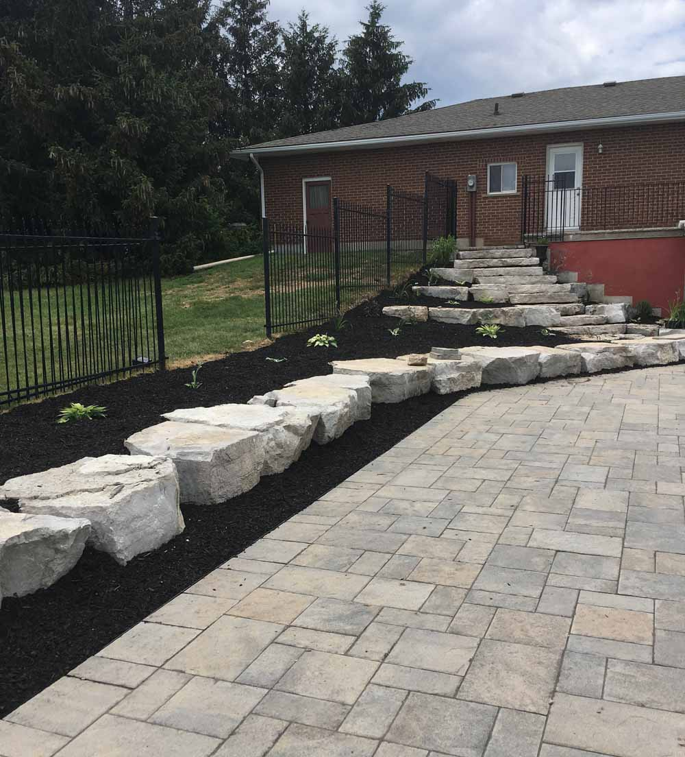 Sodding and landscaping in Burlington Ontario